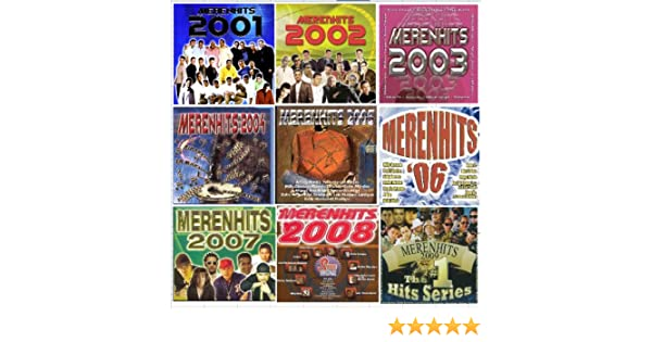 Kinito Mendez, Toño Rosario, Elvis Crespo, Grupo Mania y mas Alex Bueno - 9 Different CDs MERENHITS 2001 - 2009 - Amazon.com Music