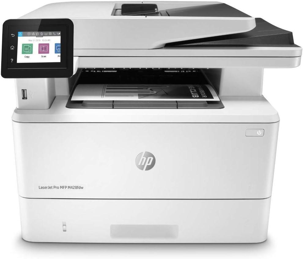 HP Laserjet Pro Multifunction M428fdw Wireless Laser Printer (W1A30A) (Renewed)