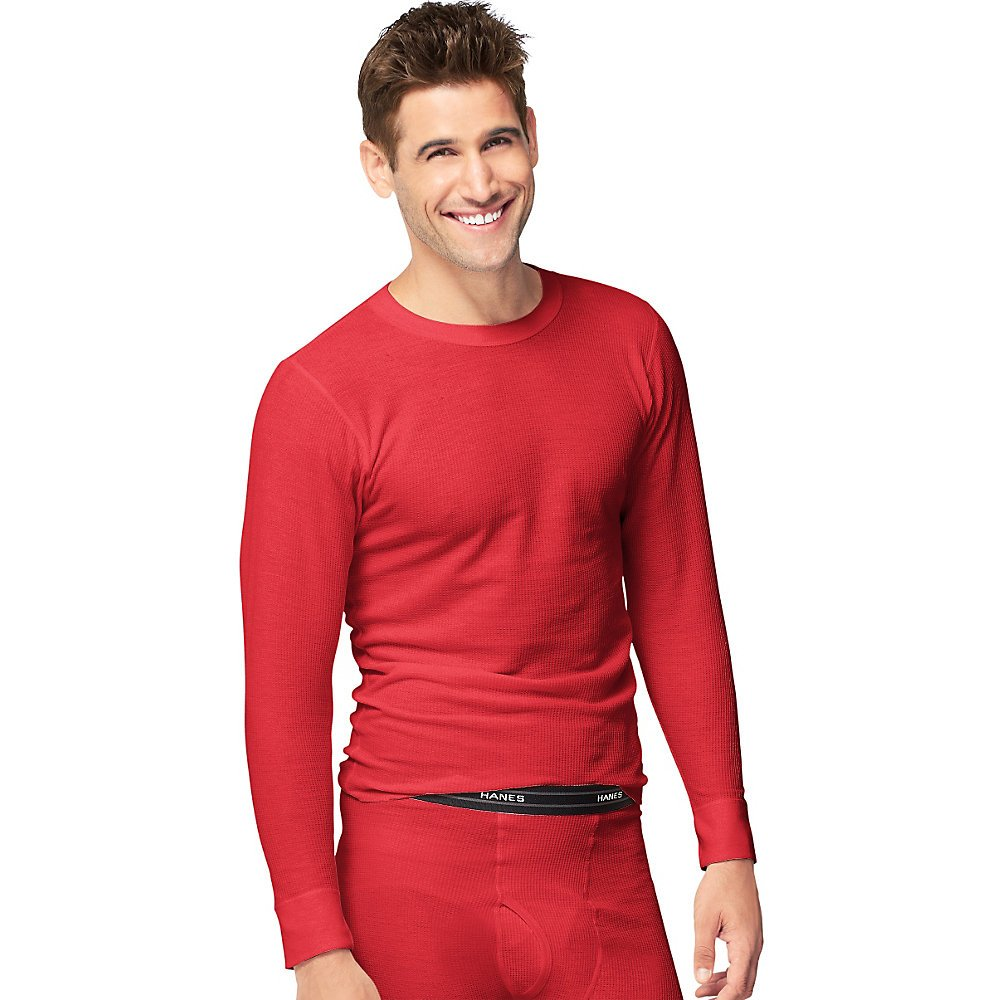 Hanes mens Hanes Men's X-temp Thermal Long-sleeve Top Hanes Men's Thermals 25439