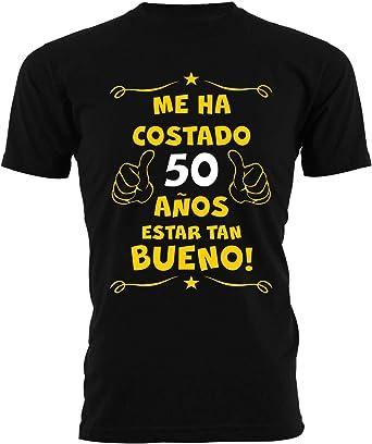 t-shirteria Camiseta cumpleaños 50 años para Estar Tan Bueno - Camiseta Hombre clásica: Amazon.es: Ropa y accesorios