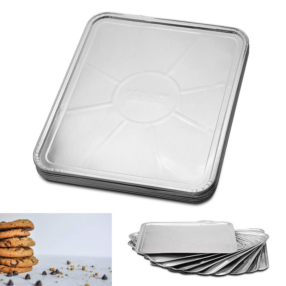"""50PK Disposable Foil Oven Liners Cooking Tray Baking Roasting Grilling 18"""" X 15"""""""