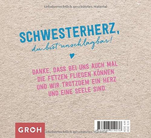 Für Mein Schwesterherz Amazonde Joachim Groh Bã¼cher