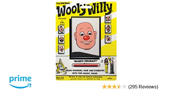 9be2e7746fc Amazon.com: PlayMonster Magnetic Personalities - Original Wooly Willy: Toys  & Games
