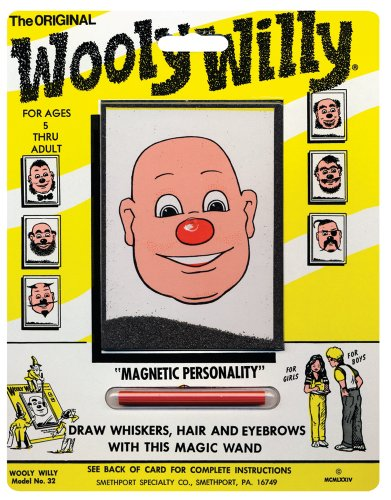PlayMonster Magnetic Personalities - Original Wooly Willy -