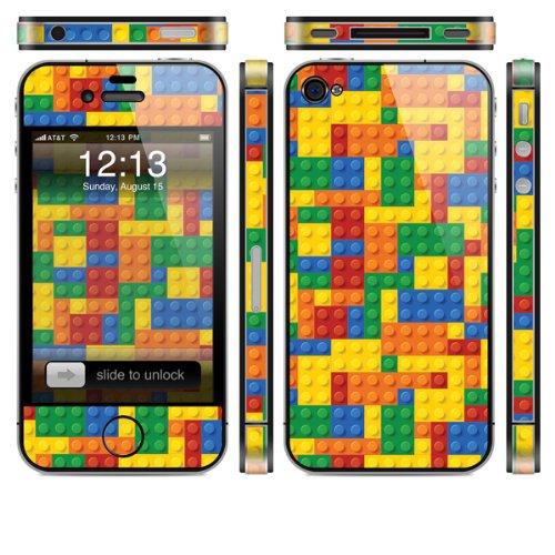 Skin für Apple iPhone 4s - bunten Steine