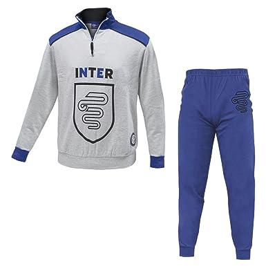 Planetex - A.14052 Pijama/chándal de algodón afelpado del Inter ...