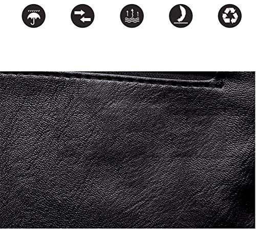 De Dos Sacs Grande À Mode Dos Lady l'eau noir Loisirs Sports Capacité Cuir Imperméable À Portés Sac en Sac Main JIUSHIGUANG PU De À De 4wzTwq