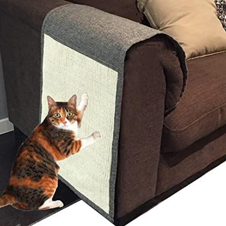 Foviupet Cat Scratch Mat Sofa Shield Pet Furniture Cover Washable And  Durable Cat Scratcher Pad Cover