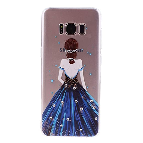 Amazon.com: Diamonds TPU Case for Samsung Galaxy S8 Case ...
