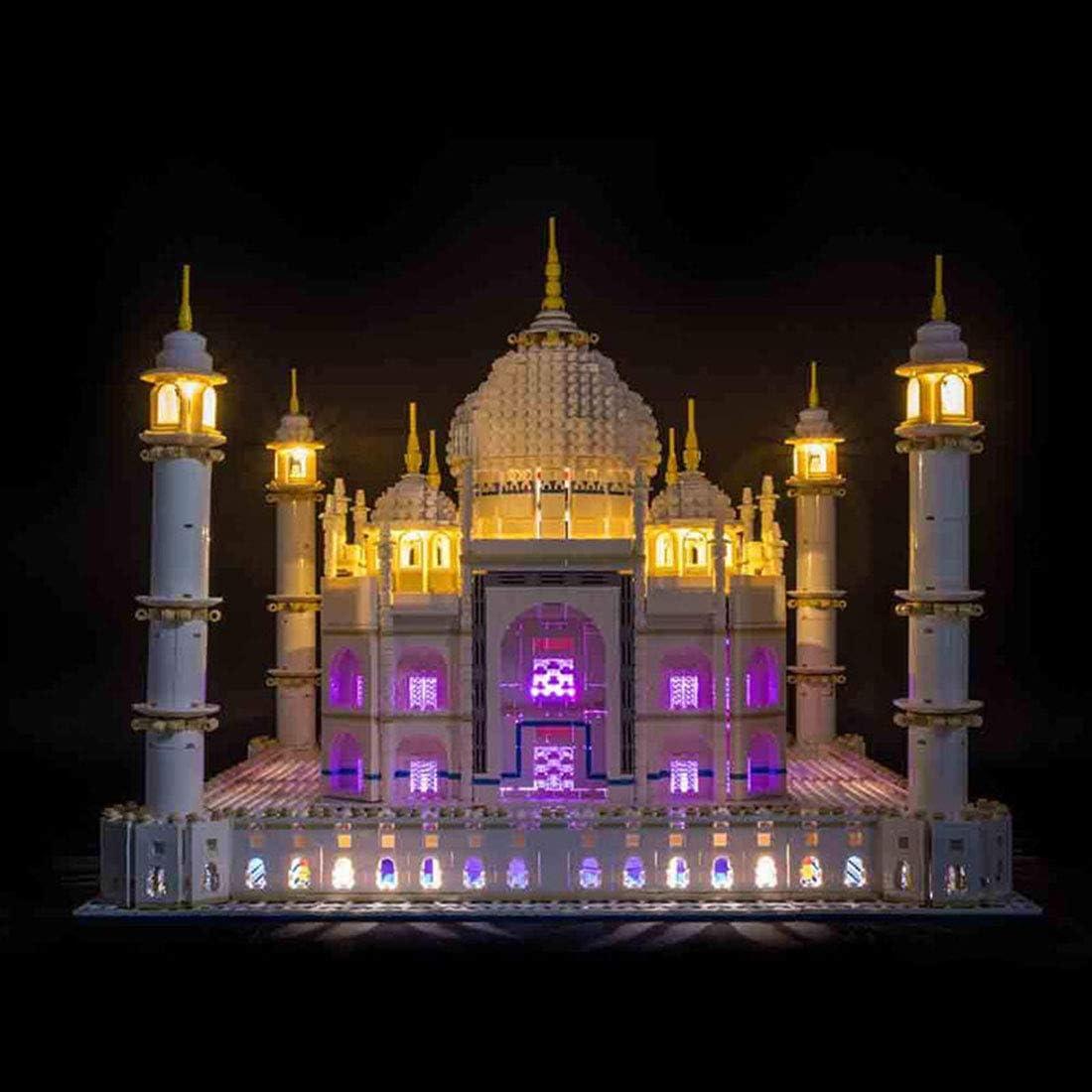 LIGHTAILING Light Set for Creator Expert Taj Mahal 10256 Building Blocks Model - Led Light kit Compatible with Lego 10256 NOT Included The Model