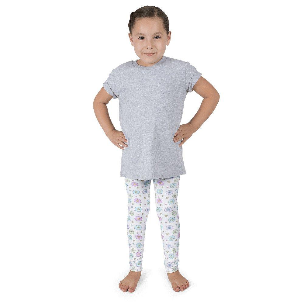 3-4 yr 5 5-6 yr 4T markedforyou Kids Leggings Talking Bubble Star and Heart Size 2T 6-7 yr 6X 1-2 yr 6 2-3 yr