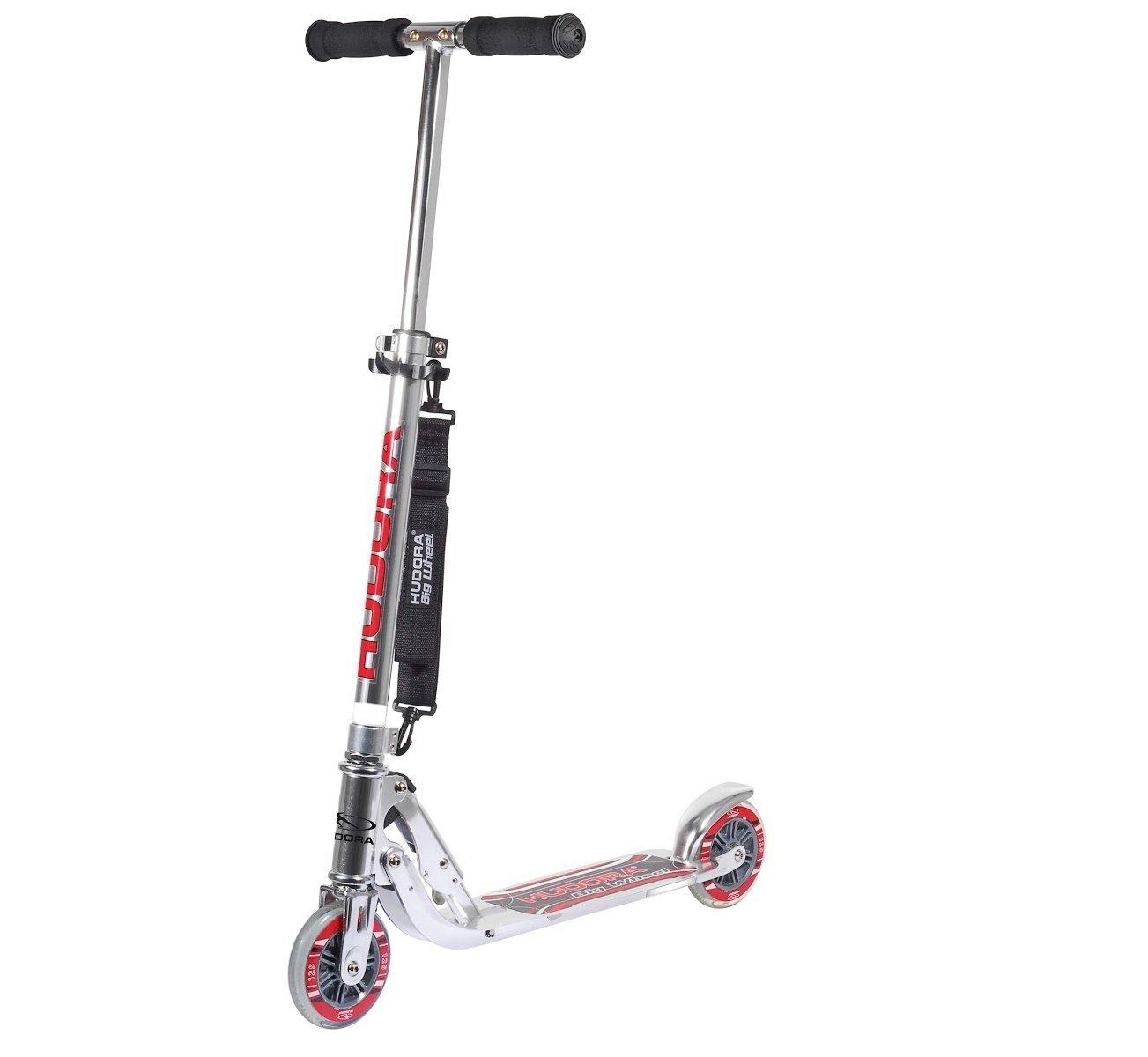 Hudora 14200 Scooter - Scooters (Kids/Adults, Asphalt,, Poliuretano, Aluminio)