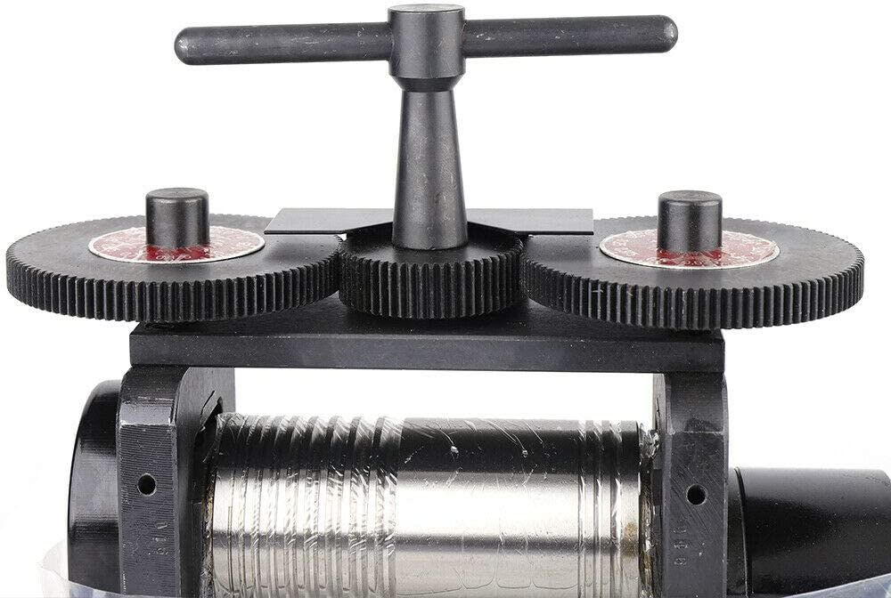 Combination Rolling Mill Machine Jewelry Rolling Mill Marking Tools Manual 5mm Opening 55//65mm Diameter Crafts CA//NJ Ship 130cm