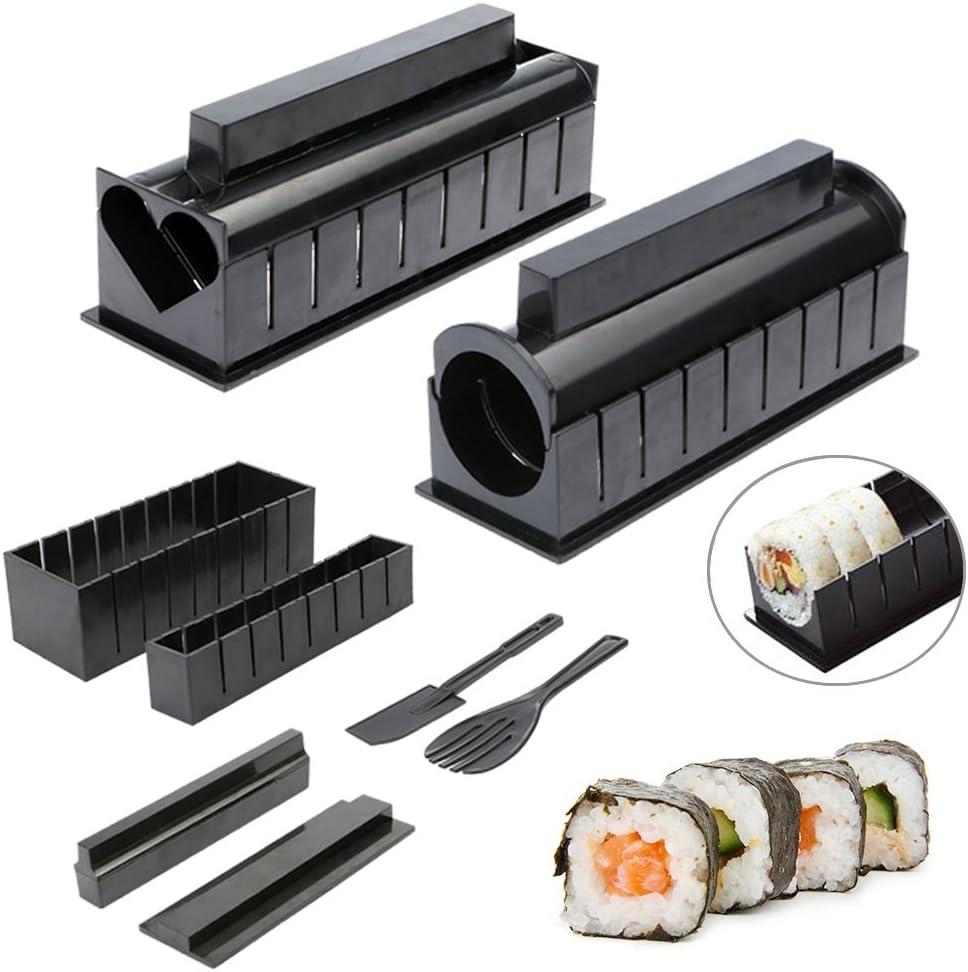 10pcs Pack Kit, nuevo Diy fácil hacer Sushi Sushi Maker Máquina ...