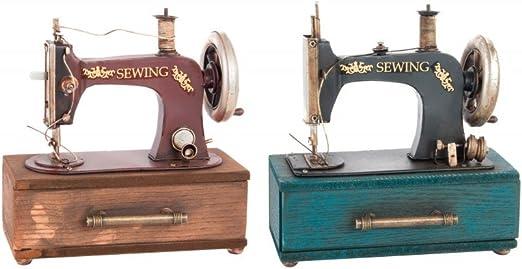 Maquina de coser de metal para decoración - Edición France - Hogar ...