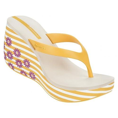 Ipanema 81706 Lipstick Thong IV Fem Beige Gold - Sandalias de Goma Para Mujer Beige Size: 40 0CPFUE