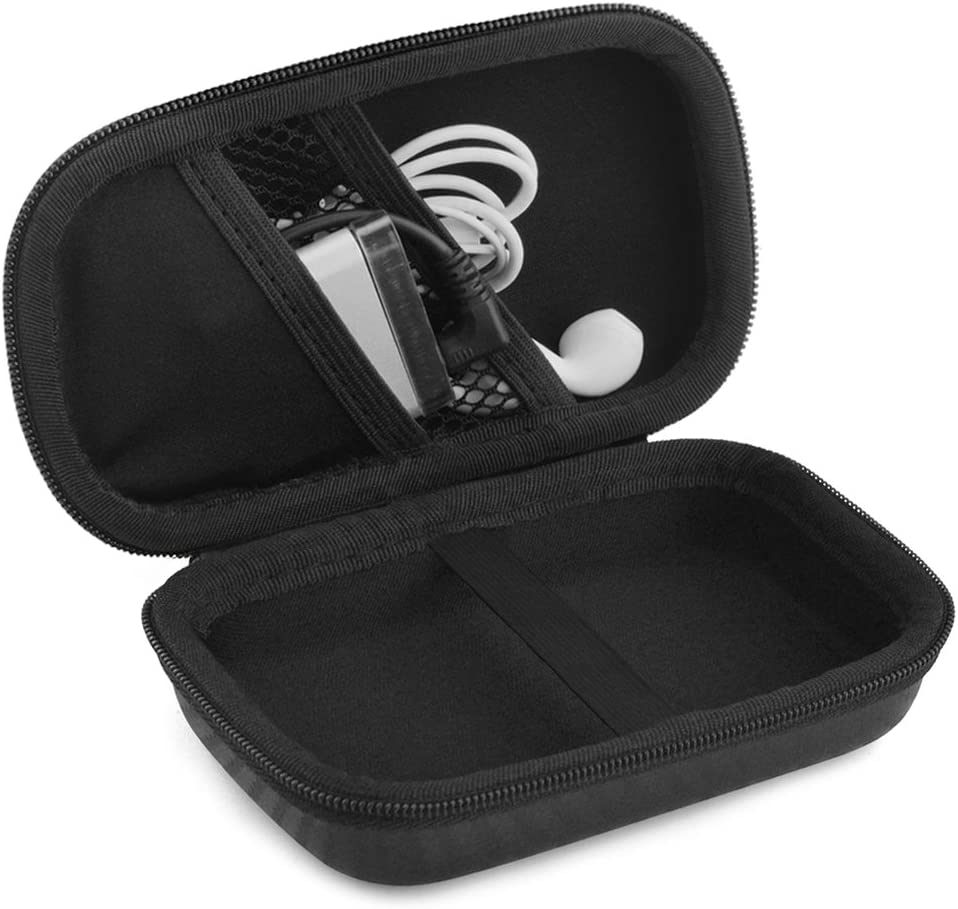 K3 Sony NW-ZX300 Geekria Headphone Amplifier Player UltraShell Case for Fiio M6 A3 M9 M7 Black Protective Carrying Bag with Room for Parts M3K NW-A55 E10K NW-A105 Q1 Mark II