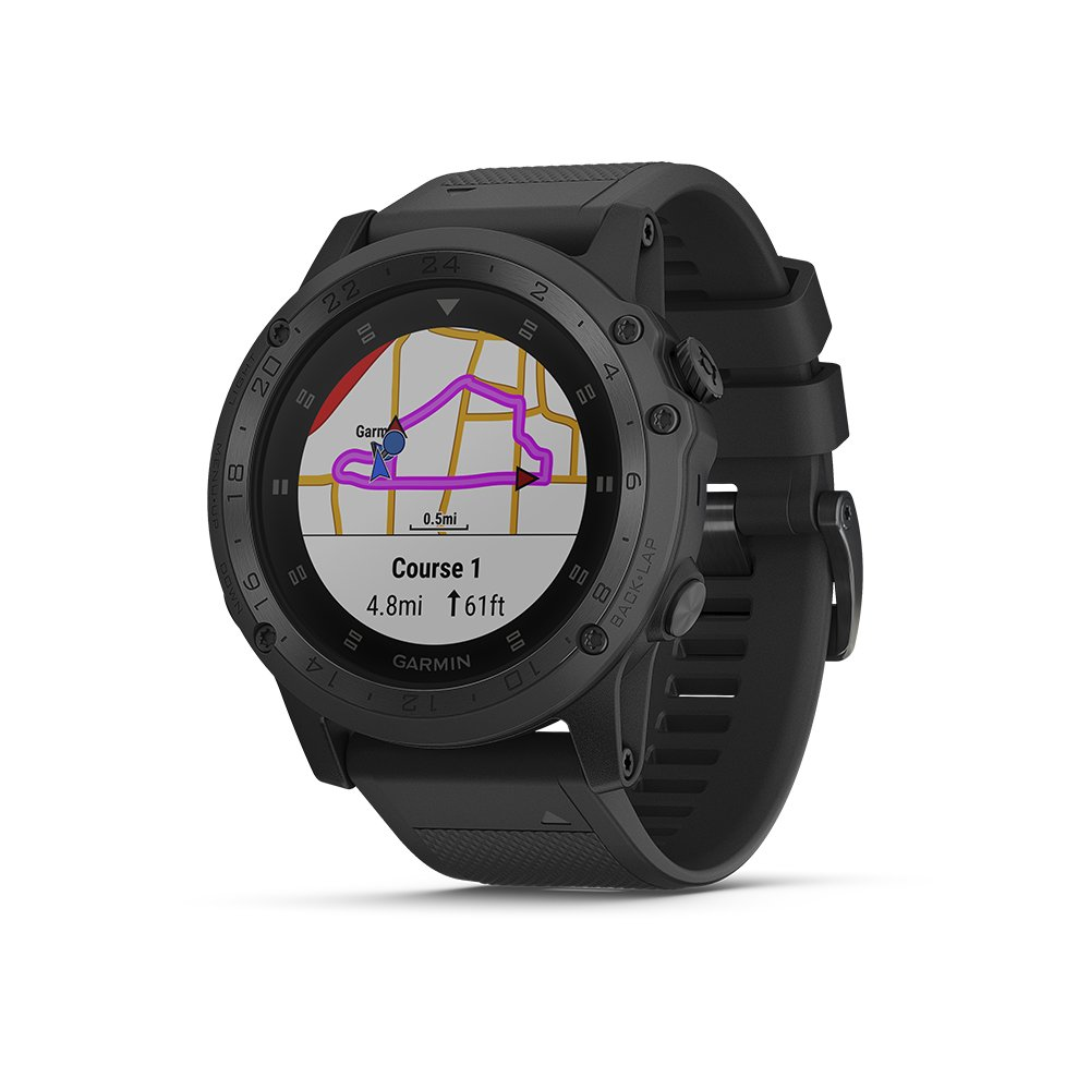 Garmin Tactix Charlie, Premium GPS Watch with Tactical Functionality, Night Vision Goggle Compatibility, TOPO Mapping and Other Tactical-specific Features by Garmin