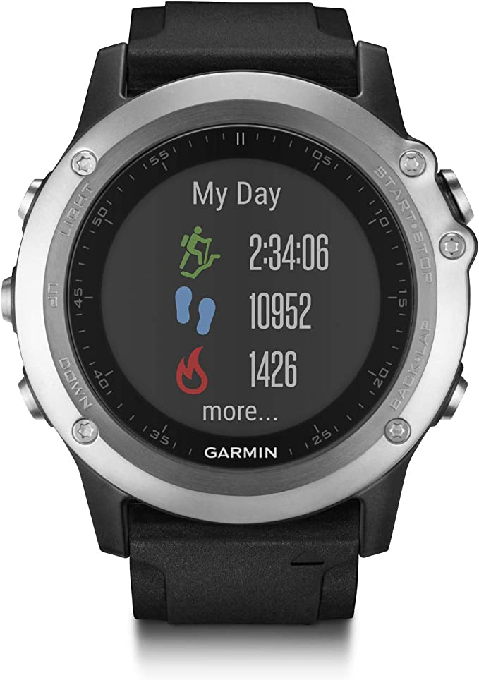 Garmin Fenix 3 HR - Reloj multideporte con GPS y sensores ABC, con ...