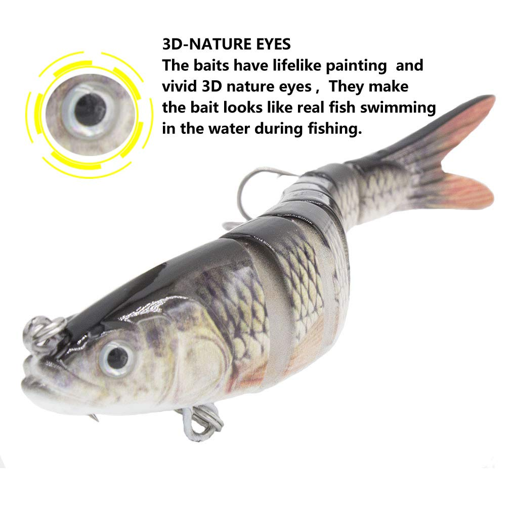 YL 0UTDOOR Fishing Bass Lures 4.9\