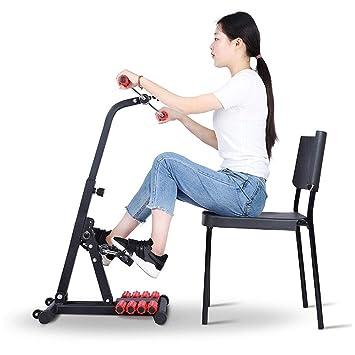 QIANGGAO Mini Bicicleta de Ejercicios, Equipos de rehabilitación para Personas de Mediana Edad, máquinas