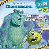 Meet the Monsters (Disney/Pixar Monsters Inc. ), Billy Wrecks, 0736429751