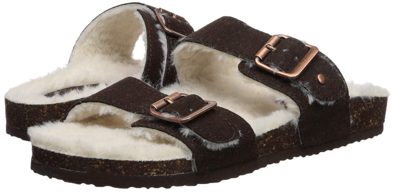256585535 Amazon.com | Madden Girl Women's Brando-f Slide Sandal | Slides