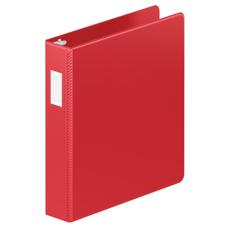 Wilson Jones ENVI Heavy Duty 1.5-Inch D-Ring Binder, Letter Size, 350-Sheet Capacity, Green (5050513816)