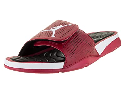 Nike Jordan Mens Jordan Hydro 5 Gym Red/White/Black Sandal 13 Men US
