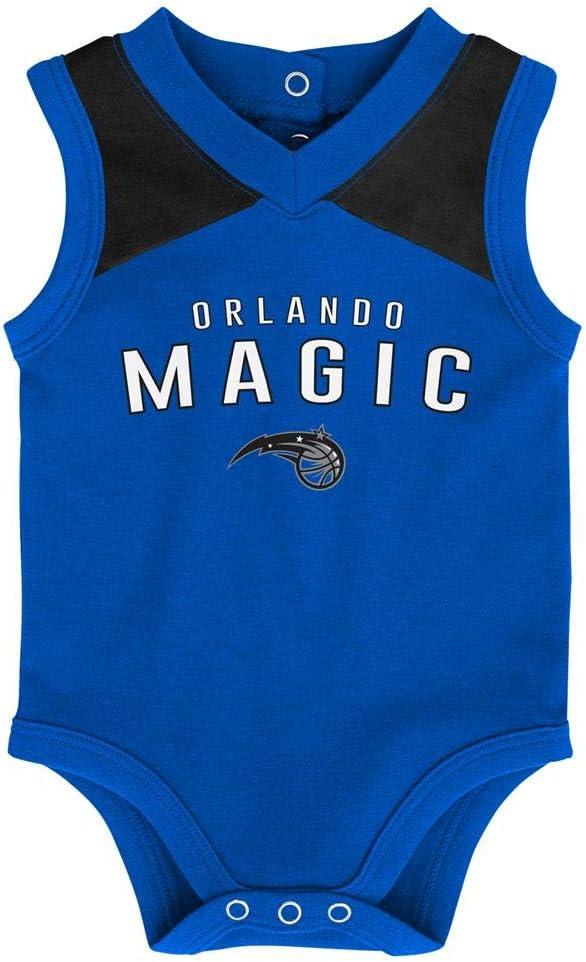 Outerstuff Infant Orlando Magic Creeper Set Baby Snapsuit Set