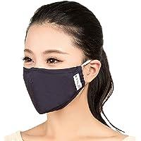 PM2.5 Filtro anti-bacteriano Earloop M¨¢scara facial para boca + Set de 4 filtros, negro
