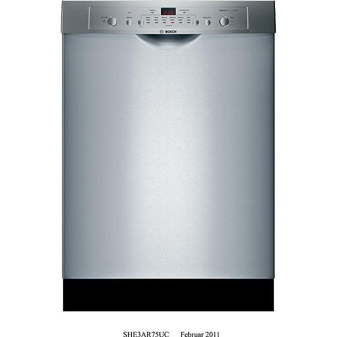 Bosch SHE3AR75UC Bajo encimera 14cubiertos lavavajilla ...