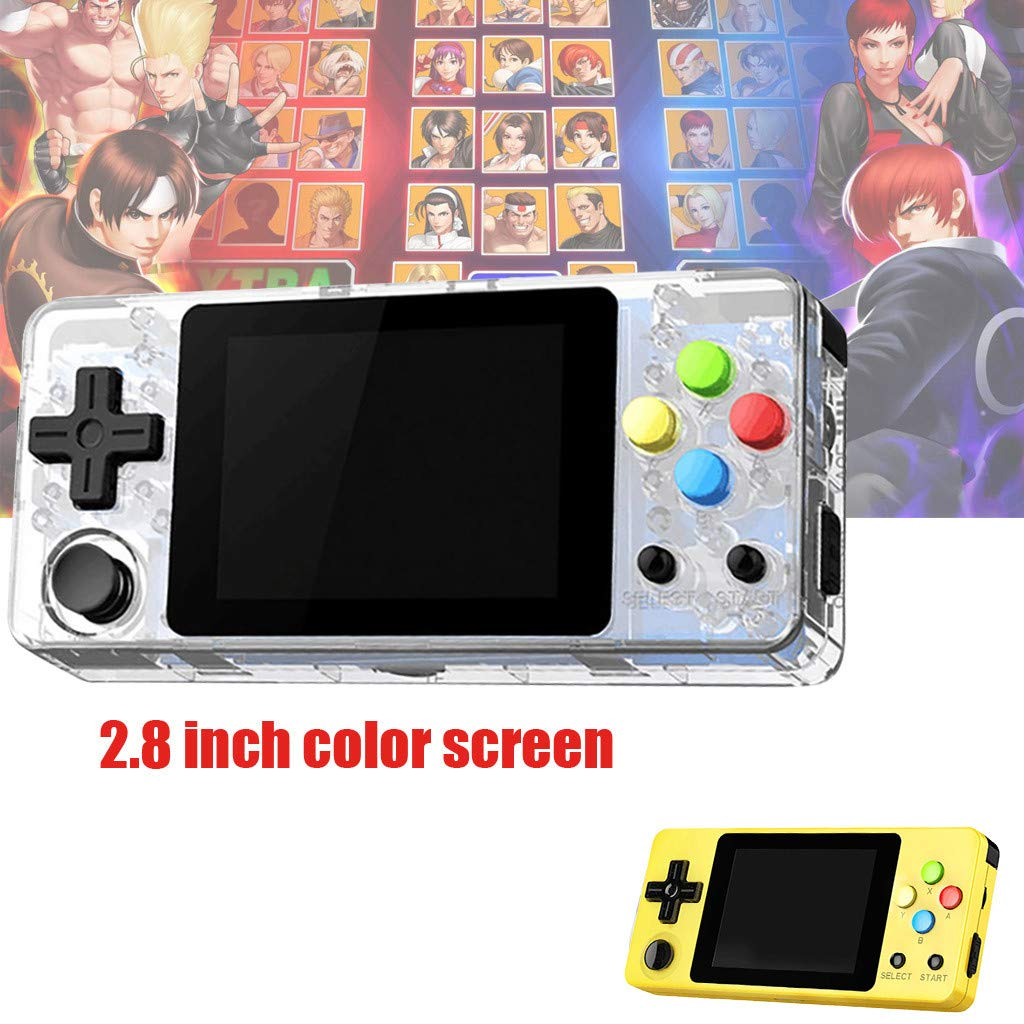 Solovley Handheld Game Console Kids Adults, LDK Game Screen by 2.7 Thumbs Mini Palm Pilot Nostalgia Console Children Retro Console Mini Family TV Video by Solovely (Image #5)