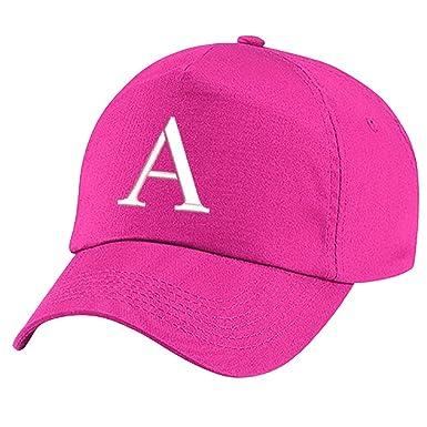 f40d1e49 4sold Children's Embroidery Cotton Summer Sun Hat Children School Kids Hat  Sport Alphabet A-Z Girl Adjustable
