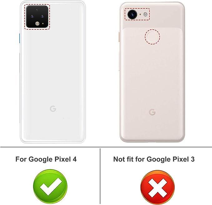 iBetter para Google Pixel 4 XL Funda, Fina de Silicona Funda, para ...
