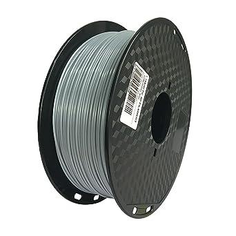 Filamento de policarbonato gris, 1,75 mm, impresora 3D, filamento ...