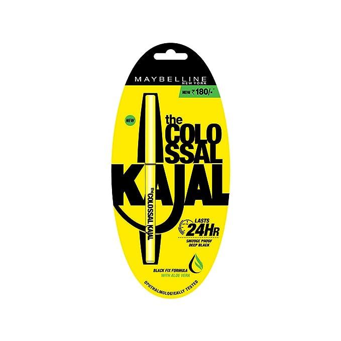 Maybelline New York Colossal Kajal, Black, 0.35g-Best-Popular-Product