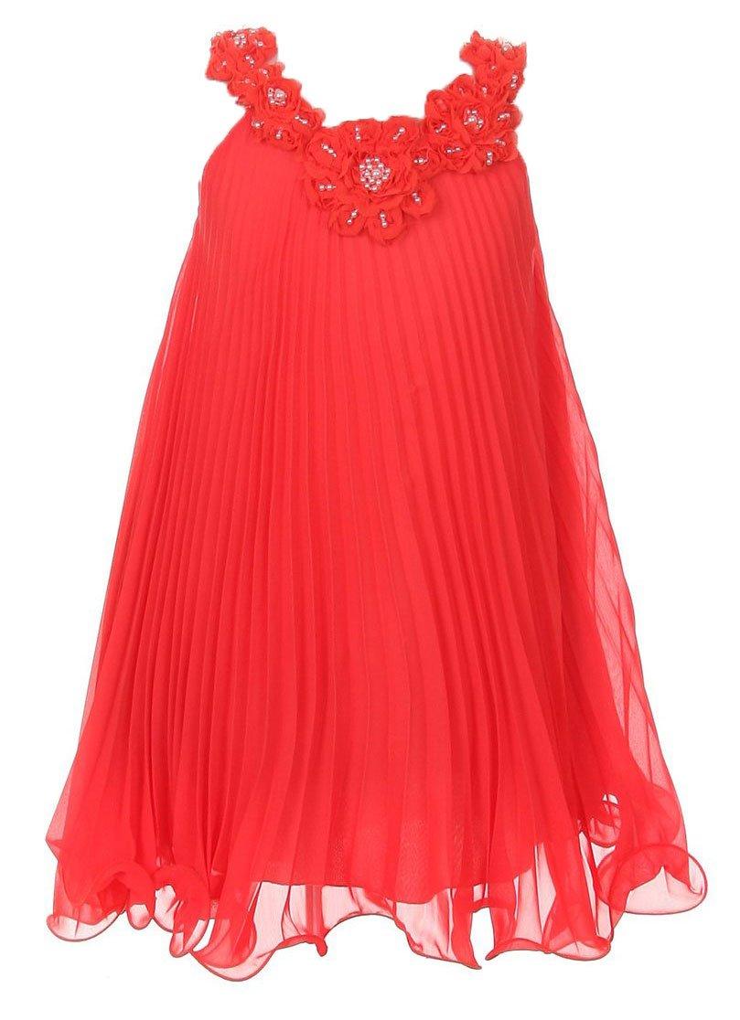 Amazon.com: 7 Colors - Soft & Flowy Chiffon Flower Girl Party Dress ...