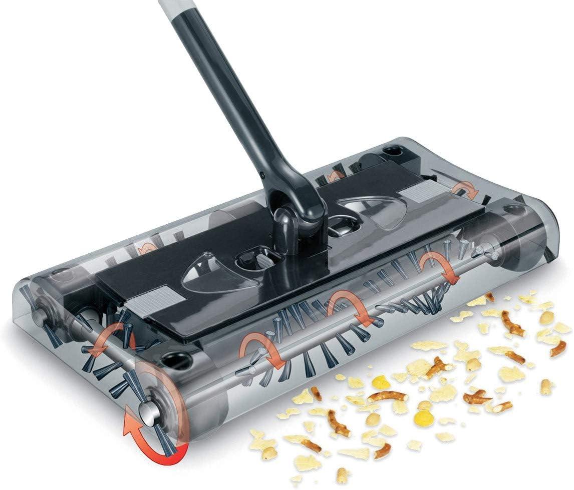 propre mobile Swivel Cordless Sweeper Aspirateur balai sans fil rotatif /à 360/° ; sans fil