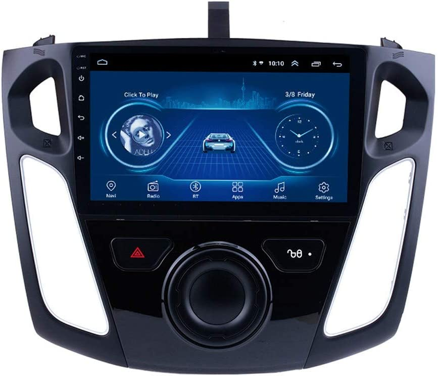Für Ford Focus 2012 2017 9 Zoll Android 8 1 Car Media Player Mit Gps Navigation Wifi Bluetooth Radio Car Multimedia Player Sport Freizeit