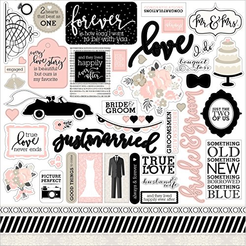 (Elements - Wedding Bliss Cardstock Stickers)