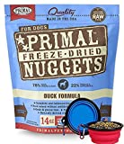 Primal Pet Food – Freeze Dried Dog Food 14-ounce Bag – Made in USA (Duck)