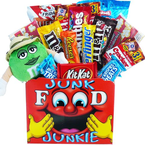 Art of Appreciation Gift Baskets All Time Favorites Snack Attack Gift Basket with Plush M & M