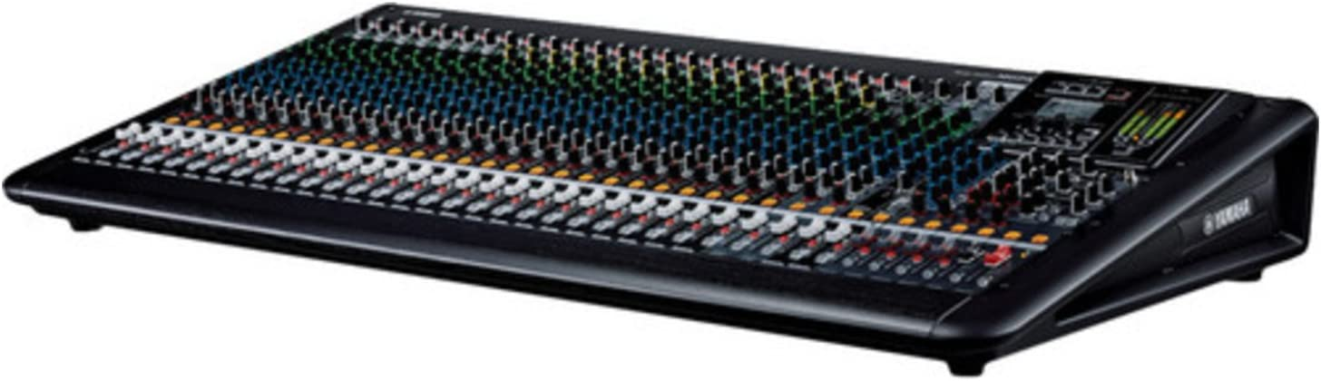 Yamaha MGP32X Mixing Console with 20 Set of Microphone Cables and 10 Set of Instrument Cables