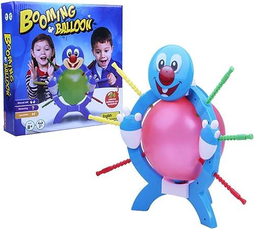 Encoco Boom Boom Juego de mesa de globos para carnaval para niños, juego de mesa divertido y complicado: Amazon.es: Hogar