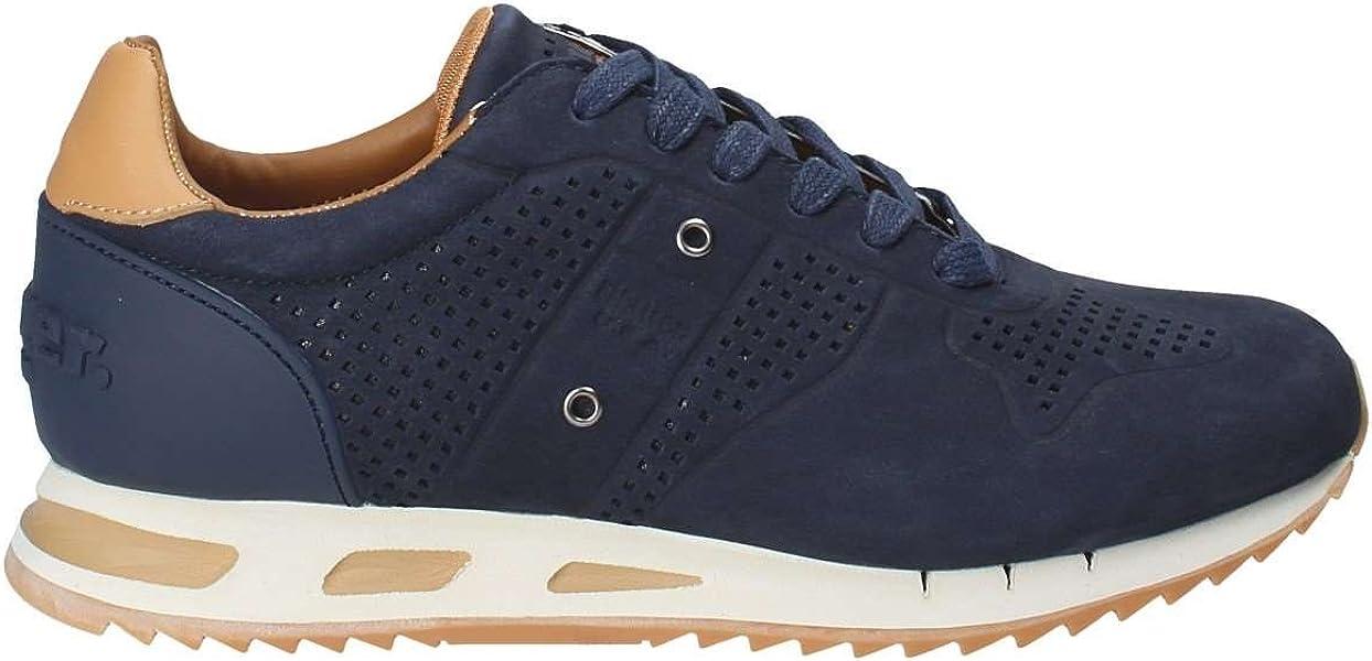 Navy 42 Blauer 8smemphis03nub Uomo Sneakers Usa wx1q8Y