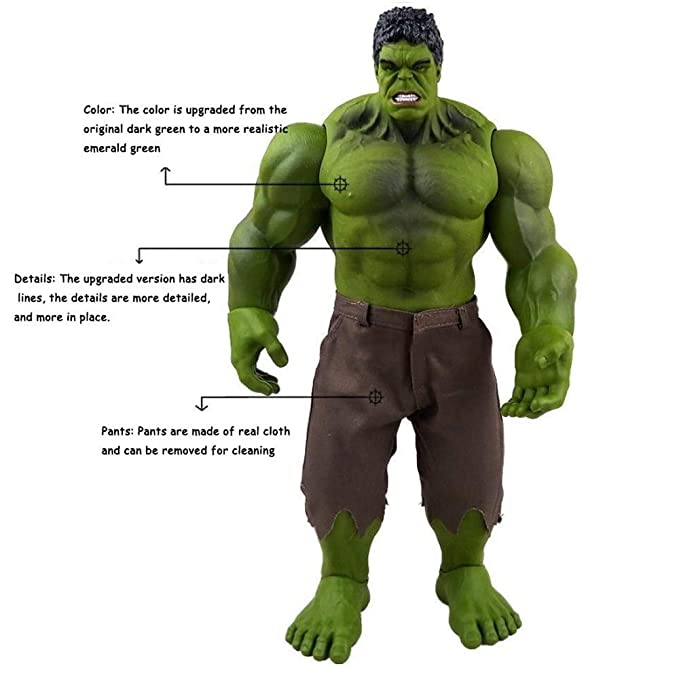 Fting Marvel Toys Hulk 16.5 inche - Avengers 3/4 Unlimited ...