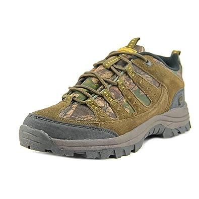 Tioga Men Round Toe Suede Hiking Shoe
