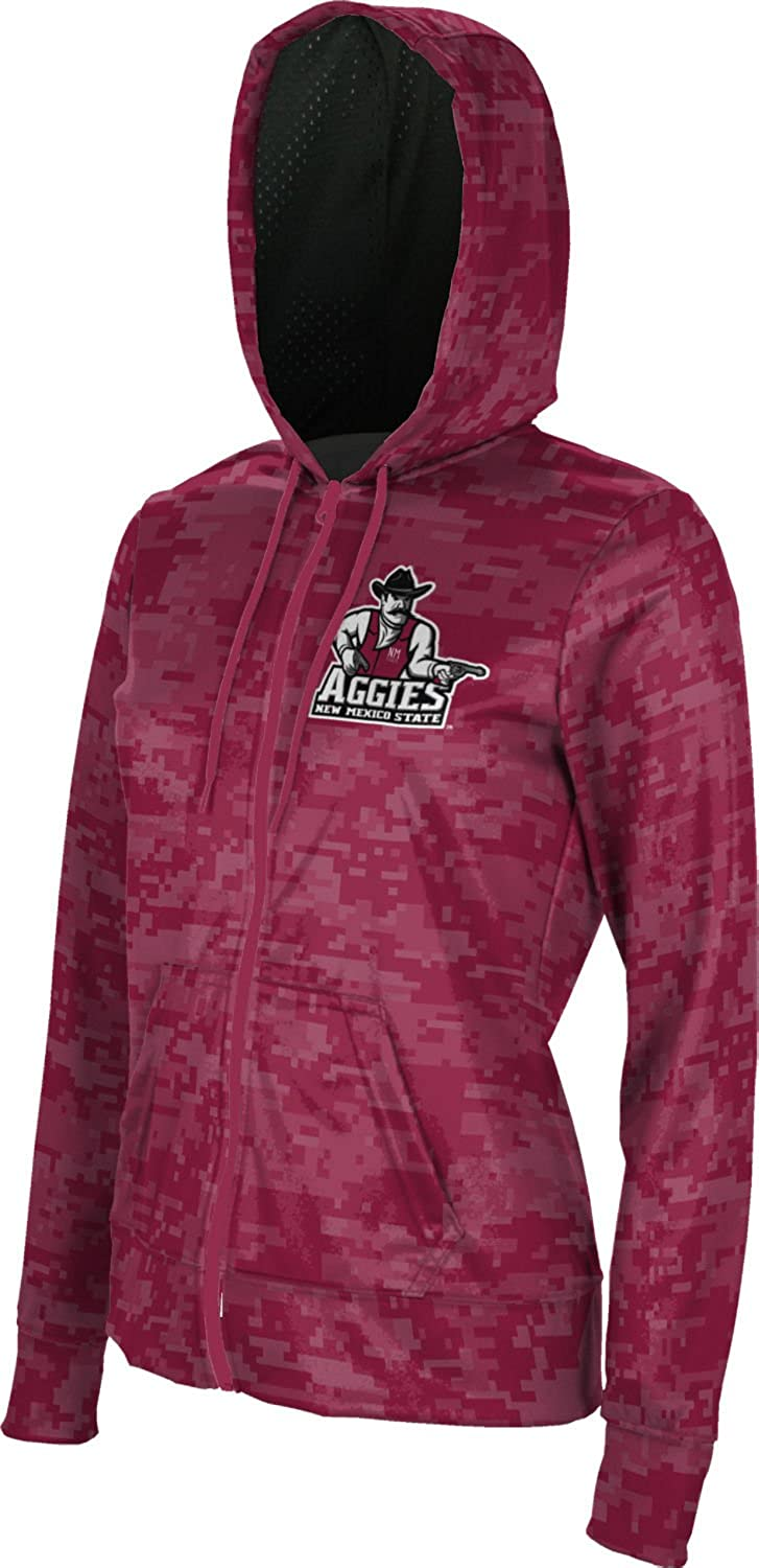 ProSphere New Mexico State University Girls Zipper Hoodie School Spirit Sweatshirt Digi Camo