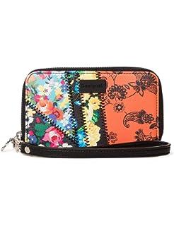 Desigual Wallet Vostok Mini Zip, Billetera para Mujer, Pantalon De Mezclilla (Jeans), 9x2x15 Centimeters (B x H x T): Amazon.es: Zapatos y complementos